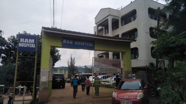 Ram hospital where the Kisii school teachers are admitted