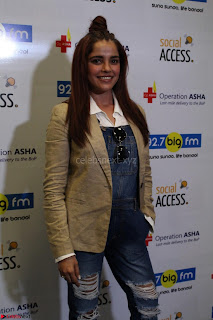 Piaa Bajpai launches TB Awareness Campaign with Darshan Kumaar 02.JPG