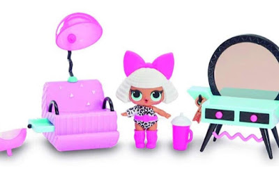 Diva exclusive doll with L.O.L. beauty salon playset 2019