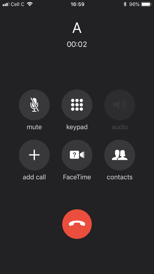 iphone 7  8  x speaker grayed out from call screen after
