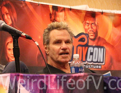 Martin Kove at the Karate Kid panel during SuperToyCon 2016