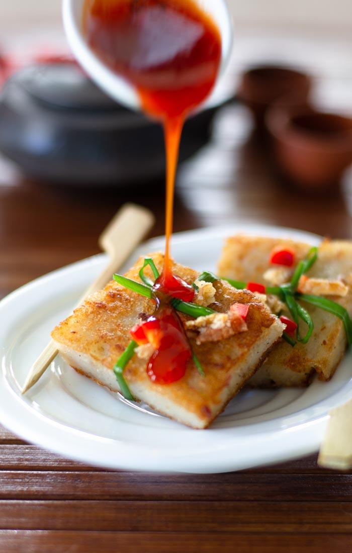 Recipe for chinese turnip cake
