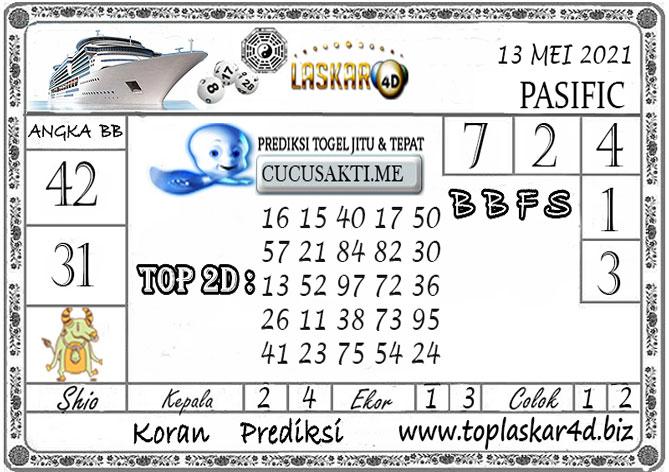 Prediksi Togel PASIFIC POOLS LASKAR4D 13 MEI 2021