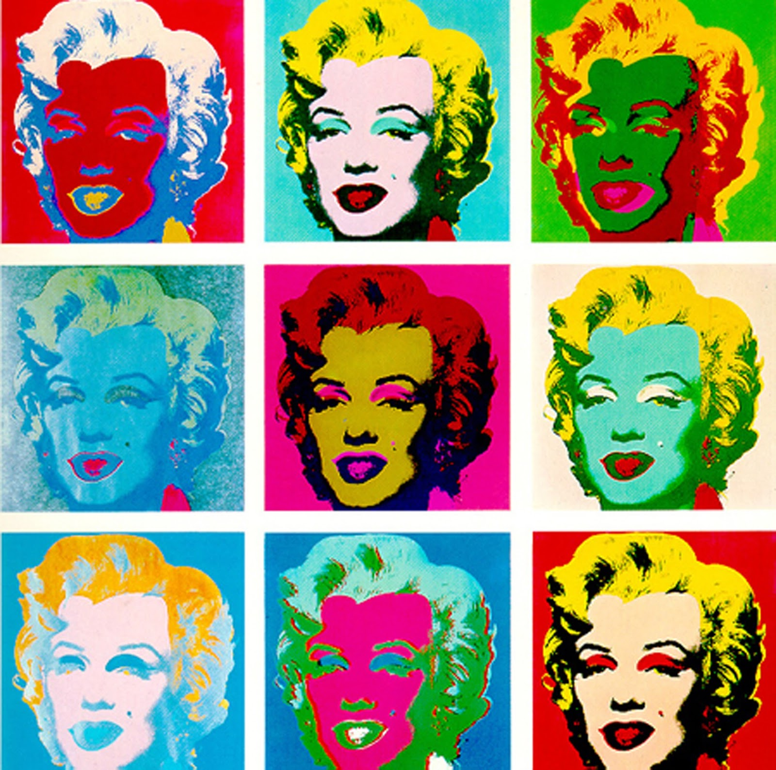 Marilyn Pop Art Andy Warhol Mrs Levine 39s Art Room Second Grade Pop Art Portraits