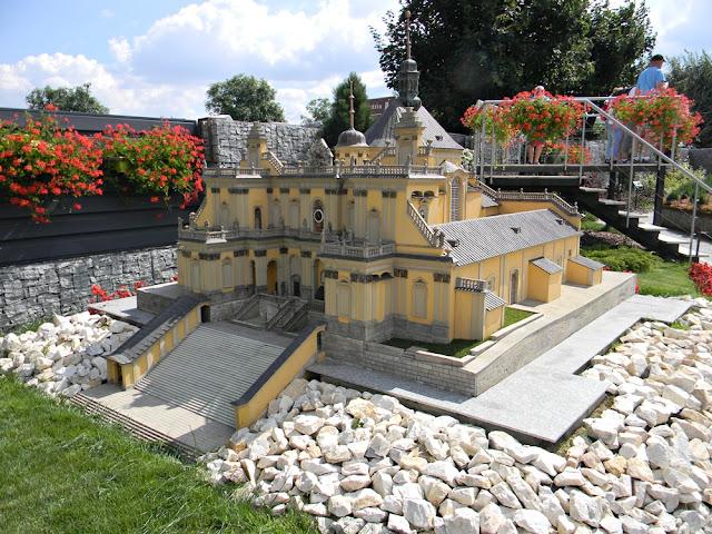 Wambierzycki kościół w skali 1:25