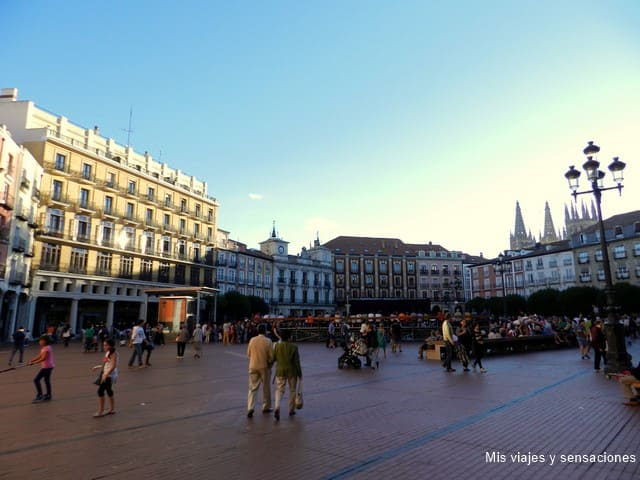 Plaza Mayor, Burgos
