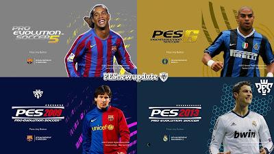 PES 2021 Classic Menu Mod by PESNewupdate (PES 5, PES 6, PES 2009, PES 2013)