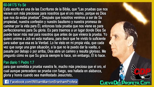 Porque Dios nos pone pruebas - William Branham en Español