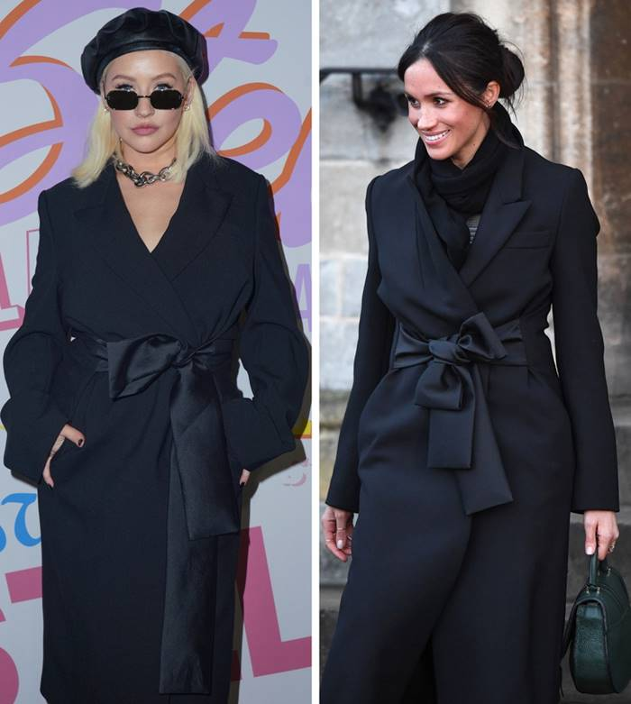 Christina Aguilera and Meghan Markle