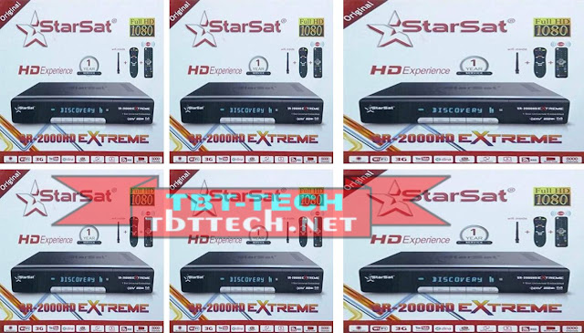 Starsat SR-2000HD Extreme New Software V2.78 2020