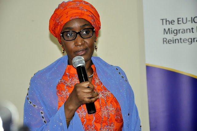 Sadiya Farouq speaks on marriage to Buhari