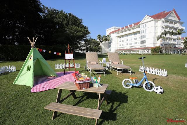 香港迪士尼樂園度假區主題酒店迪士尼輕營遊體驗, Hong Kong Kong Disneyland Resort 2021 lounge-play-package