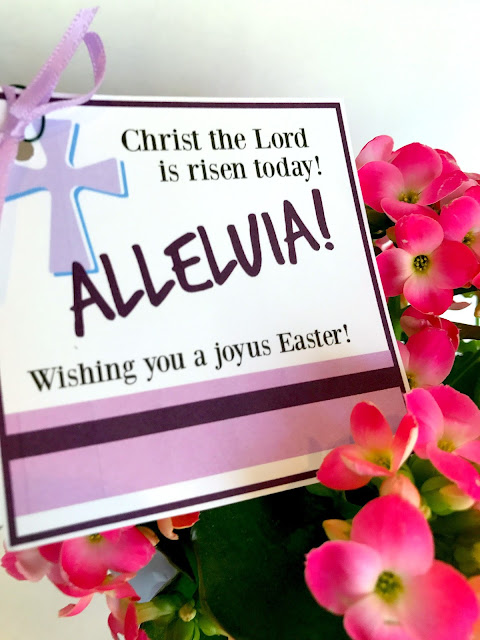 Alleluia Easter tags