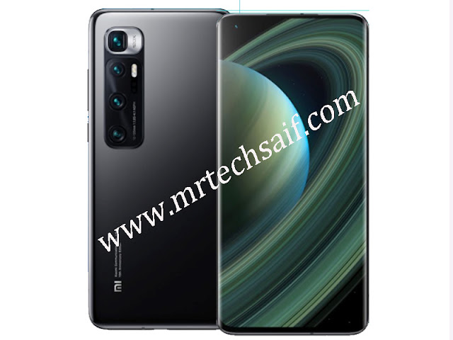 Xiaomi Mi 10 Ultra powered by Adreno 650 processor and features 6.67 inches OLED display and Qualcomm SM8250 Snapdragon 865 chipset, 10 android OS other than that xiaomi mi 10 ultra 48 Megapixels main rear quad cameras setup with 5x optical zoom n 120x hybrid zoom camera features and front selfie camera single 20 MP. Xiaomi Mi 10 Ultra launching 4 variant models 512GB build-in 16GB RAM n 256GB internal storage with 12GB RAM other than that 256GB/128GB internal memory with 8GB Ram. Xiaomi Mi 10 Ultra best 5g smartphone fingerprint under display and 4500 mAh battery with fast battery charging 120w and misc color mercury silver, transparent edition, obsidian black colors. Xiaomi Mi 10 Ultra full detailed phone specifications and review. specs by mrtechsaif