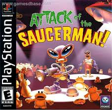 Attack of the Saucerman  - PS1 - ISOs Download