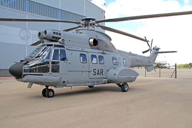 Autorizada la adquisición de 2 helicópteros AS332 para el servicio SAR del Ejército del Aire