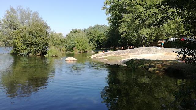 Margem Rio Cávado na Praia de Navarra