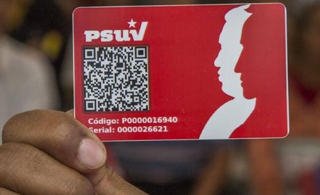 PSUV activará este fin de semana jornada especial de carnetización
