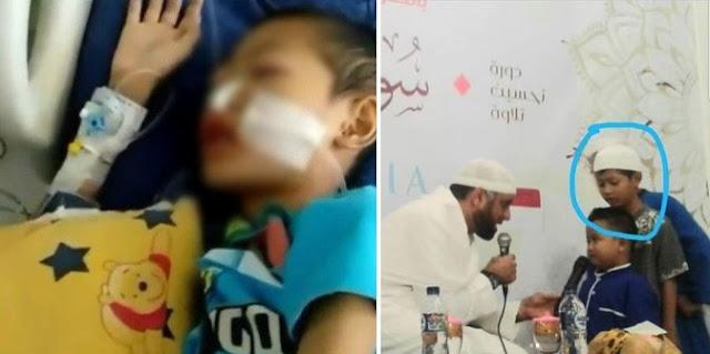 Bocah Kritis Yang Tetap Lantunkan Alquran Meninggal Dunia, Syekh Ali Jaber: Insya Allah Jadi Syafaat Bagi Orangtuanya