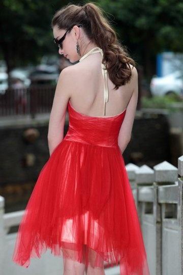 8137398bb93 Tenue pour correspondre à la robe rouge de bal