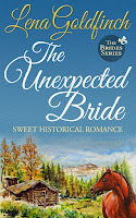 The Unexpected Bride (The Brides Book 1), Lena Goldfinch, Sweet Historical Western Romance, A Mail-Order Bride Novel