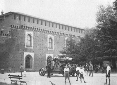 castello sforzesco cannone mortaio skoda 30.5