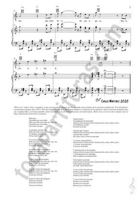 LETRA Flauta dulce, Voz y Solfeo Partitura de Bella Ciao a Dúo con Piano Acompañamiento Sheet Music Recorder, Voice, Solfeggio  Duet Piano accompaniment Music Scores PDF/MIDI de Flauta dulce