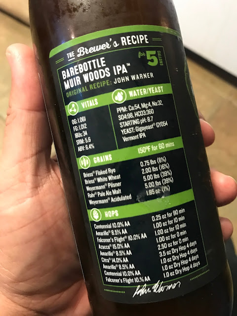 Barebottle Muir Woods IPA 5