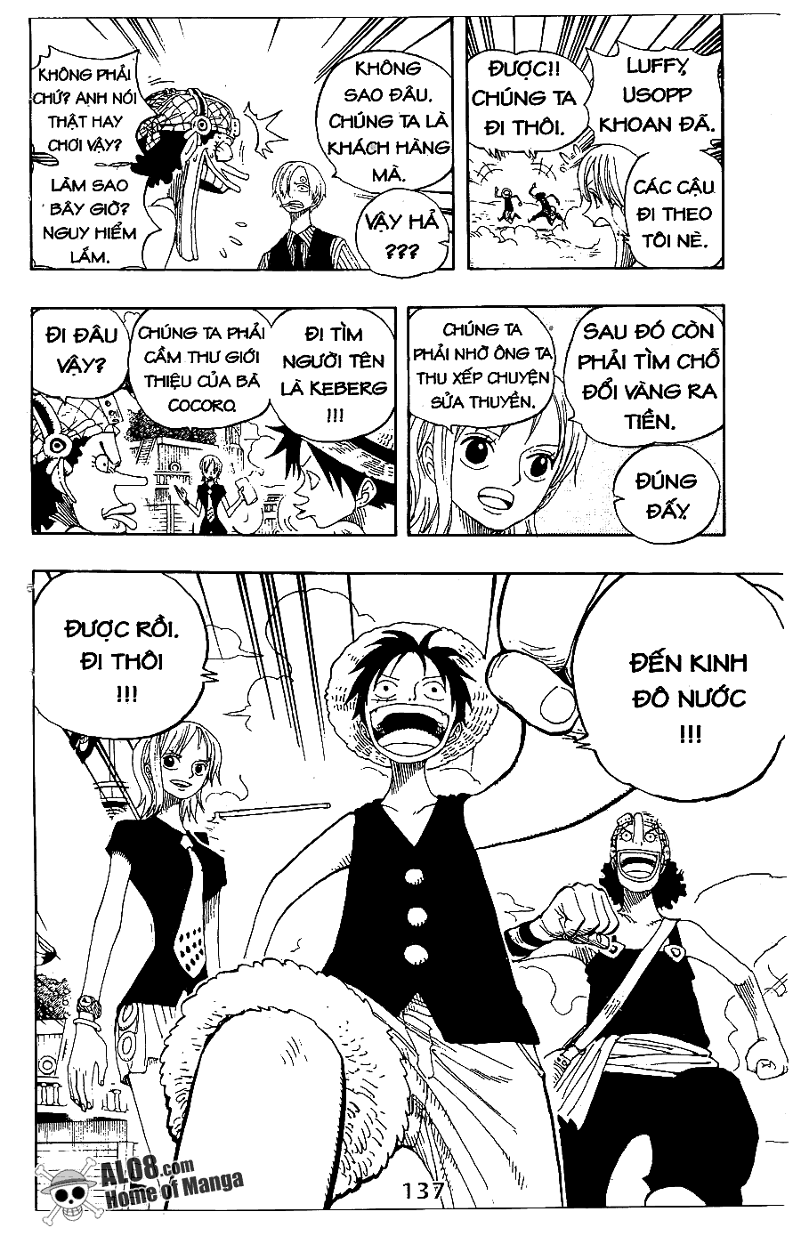 One Piece Chap 323