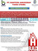 Loker Surabaya Terbaru di PT. Bahtera Anugerah Tiara Utama Juli 2019