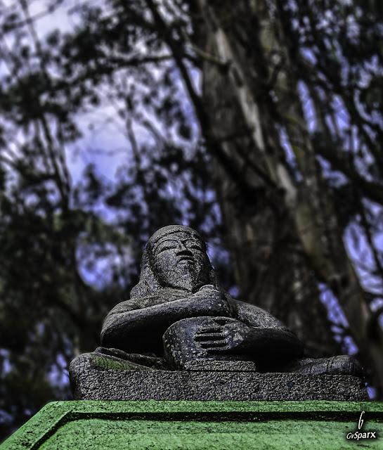 Old man saviour sculpture at Kodaikanal, Tamil Nadu