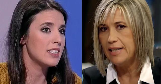 Irene Montero y Julia Otero