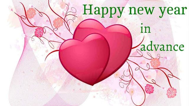 Advance Happy New Year 2018 for Love
