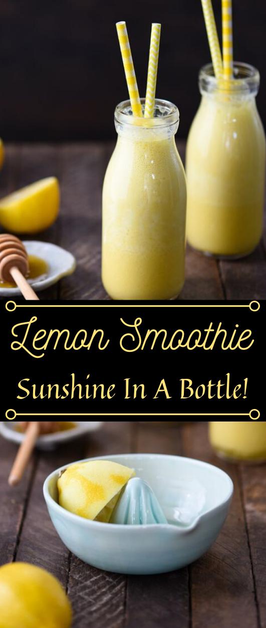 Lemon Smoothie #drink #smoothie #lemon #summer #easy