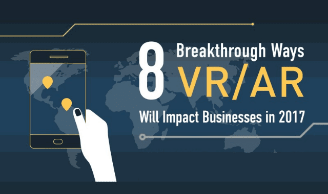 8 Breakthrough Ways VR/AR Will Impact Businesses in 2017