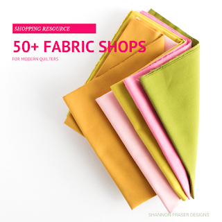 50+ Fabric Shopping Resources | Shannon Fraser Designs