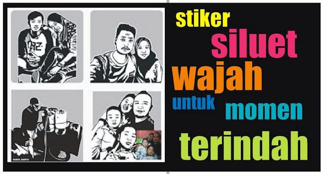 stiker-siluet-wajah-536573