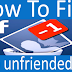 How Can You Tell if someone Unfriended You On Facebook