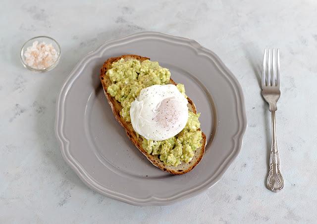 sniadanie tost z awokado
