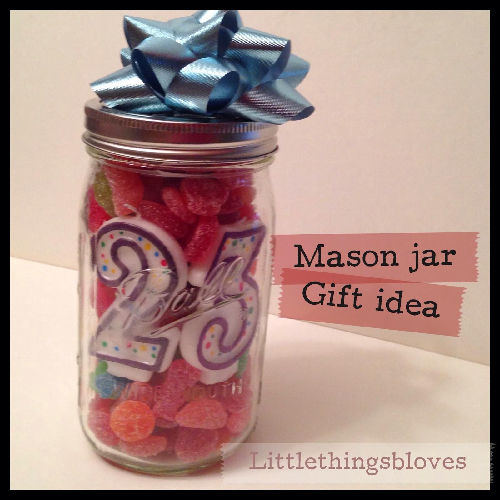 23 Gifts For My Boyfriend S 23rd Birthday: She's Wright : Mason Jar Fun