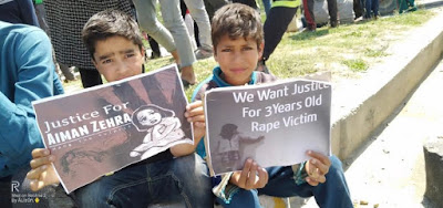 3-year-old girl brutally raped by 23- year old man in Kashmir