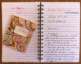 I came across a couple more of Piper's notebooks