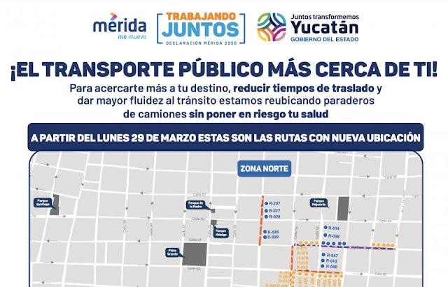 Desde el lunes 29 algunos paraderos del transporte urbano de pasajeros se acercan al Centro Histórico
