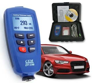 Coating Thickness Gauge CEM Instruments DT-156 *|* TLP 082112325856