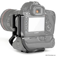 Sunwayfoto Custom L Bracket for Gripped Canon 5D Mk IV - Preview