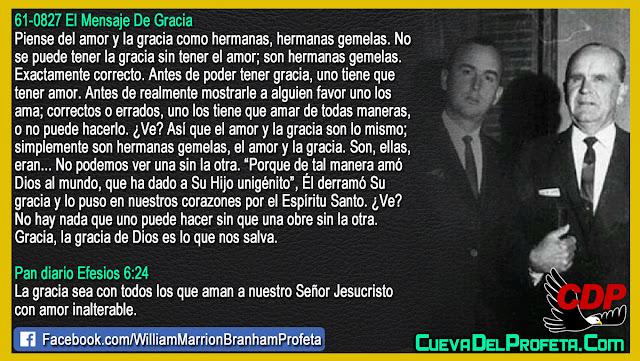 Que es el amor de Dios? William Branham