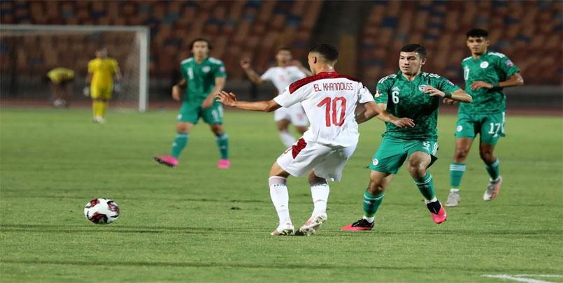 كأس العرب لأقل من 20 سنة+المُنتخب الوطني الجزائري لأقل من 20 سنة+مصر+المُنتخب المغربي+ركلات الترجيح +2021+Equipe-Algérie-Coupe-arabe-U-20