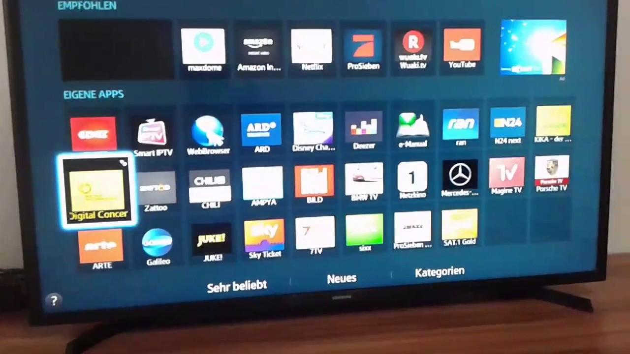 تحميل تطبيق سامسونج smart tv للاندرويد و للايفون إضافة تطبيقات ليست موجودة على شاشة سامسونج
