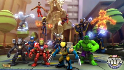 jogo Marvel Super Hero Squad Online