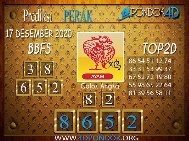 Prediksi Togel PERAK PONDOK4D 17 DESEMBER 2020